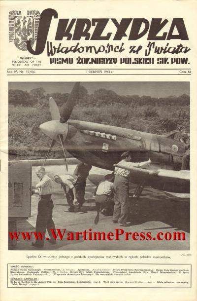 Skrzydla 1943 08 01 nr 15 (PDF)