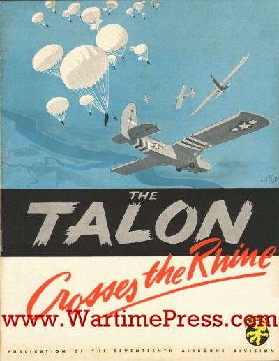 The Talon Crosses the Rhine; 24 pages (PDF)