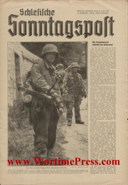 Schlesische Sonntagspost 1944 06 25 nr 26 (PDF)
