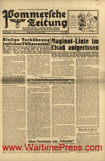 Pommersche Zeitung